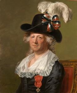 """Chevalier d'Eon"" by Thomas Stewart, 1792"
